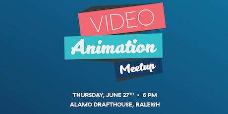AIGA Raleigh Video & Animation Meetup at Alamo Drafthouse Raleigh tickets