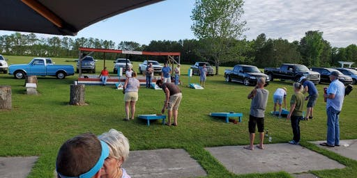 Cornhole Tournament at Harley's Roadhouse