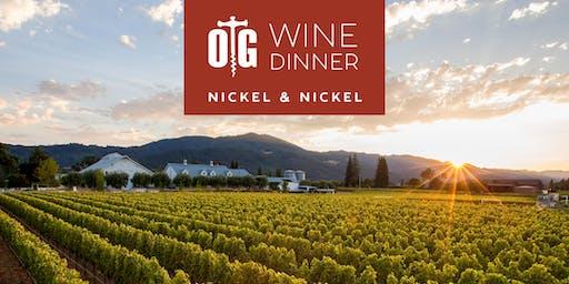 Nickel & Nickel Wine Dinner at Oak Grill