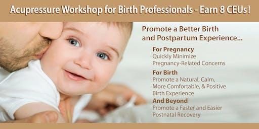 Acupressure Workshop for Birth Professionals