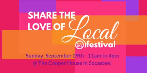 Share the Love of Local Fall Festival 2019