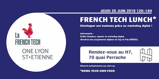 FTLunch - Développer son business grâce au marketing digital !