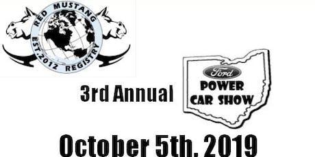 3rd Annual Ford Power Car Show tickets