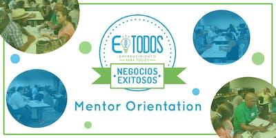 EparaTodos Lawrence | Orientación de Mentores Para Negocios Exitosos Verano 2019