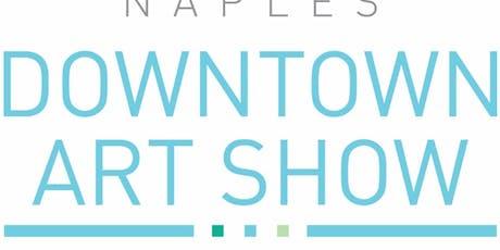 32nd Naples Downtown Art Show tickets