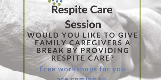Free Respite Care Workshop