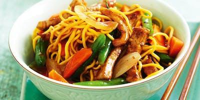 Kids Camp-Stir fry and Noodles