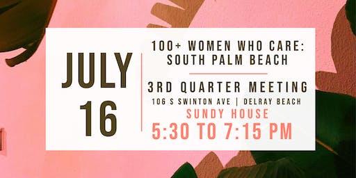 100+ Women Who Care South Palm Beach: Summer Meeting 2019