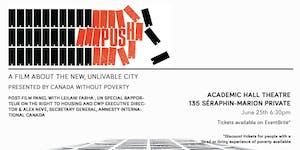 PUSH - The Exclusive Ottawa Premiere