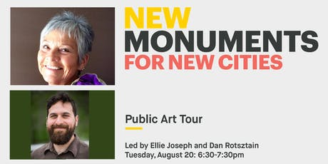 New Monuments: Public Art Tour with Ellie Joseph and Daniel Rotsztain tickets
