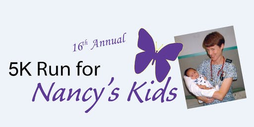 5K Run/Walk for Nancy's Kids 2019