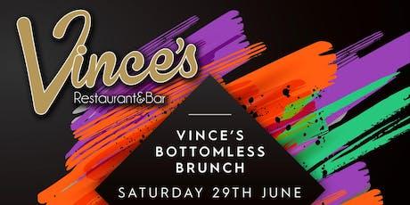 Vince's Bottomless Brunch  tickets