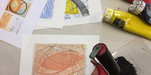 DRINK AND DRAW – GELLI PRINTING HEPWORTH ABSTRACTS