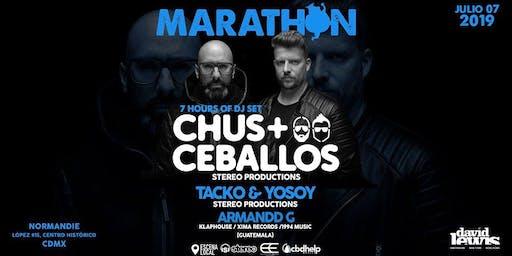 Marathon con Chus + Ceballos CDMX |Agenda Noches Electrónicas Mx