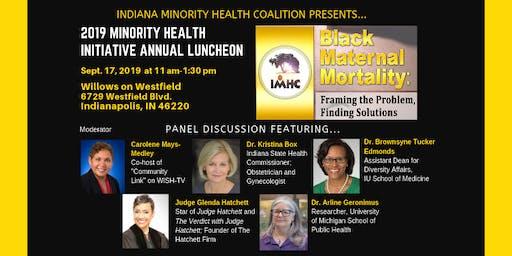 Indiana Minority Health Initiative Annual Luncheon 2019
