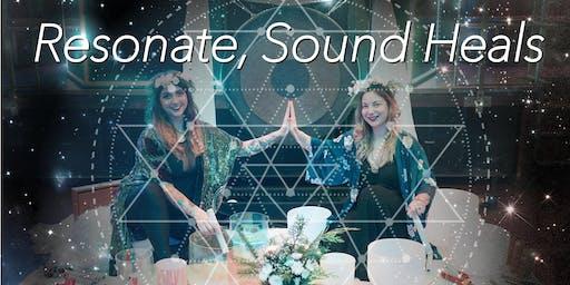 Resonate Sound Heals, Reiki + Sound, with Becca Davis & Nicola Buffa