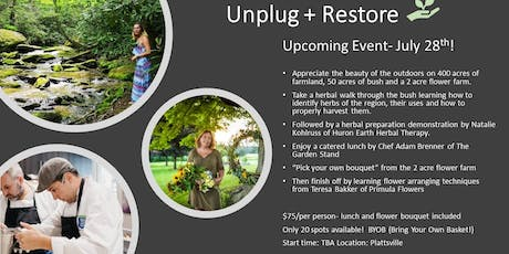 Unplug + Restore tickets