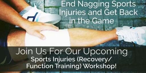 End Nagging Sports Injuries and Get Back in the Game