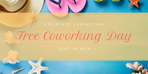 Free Coworking Day to Celebrate Summer