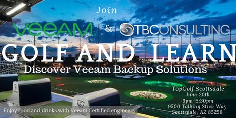 Golf & Learn with Veeam and TB Consulting tickets