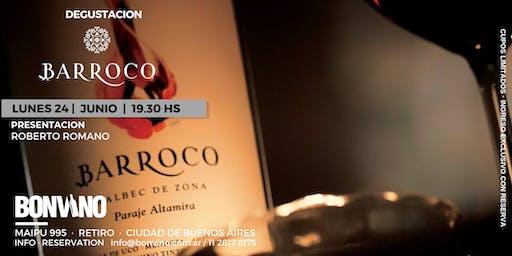 Cata Barroca: Lo nuevo de Vinos Barroco