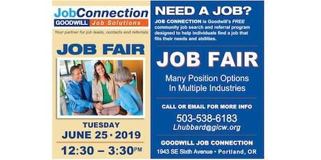 Job Fair - Portland - 6/25/19 tickets