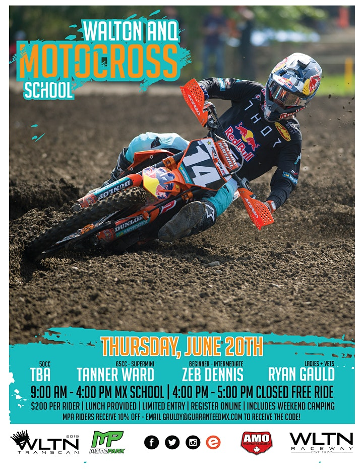Walton ANQ Motocross School image