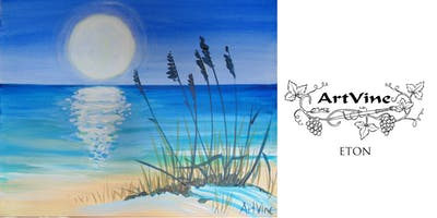 ArtVine, Sip and Paint in Eton, 24th July 2019