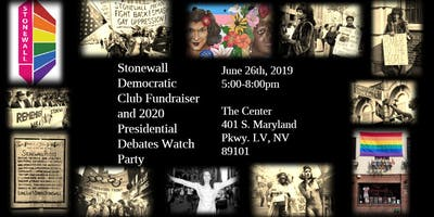 Stonewall Democrats Fundraiser and 2020 Presidential Campaign Watch Party