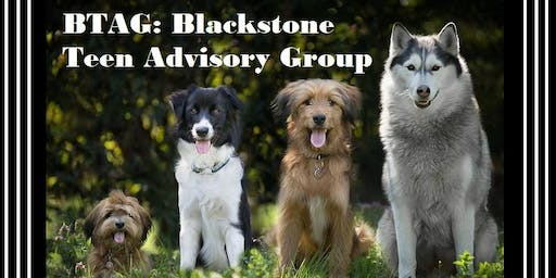 Blackstone TAG: Teen Advisory Group
