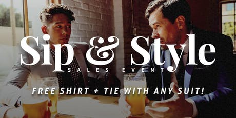 Eph Apparel Calgary - Sip & Style Sales Event tickets