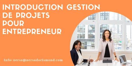 Découvrir la gestion de projets pour entrepreneur tickets
