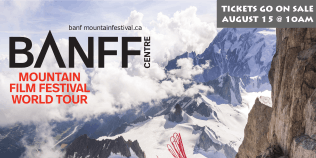 Banff Mountain Film Festival World Tour in Davis - FALL - Tues 9/17/19