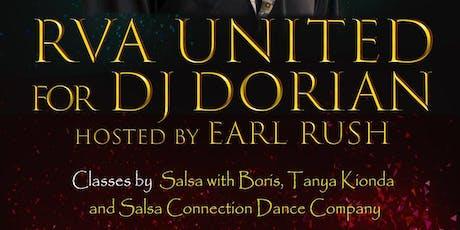 RVA United for DJ Dorian tickets