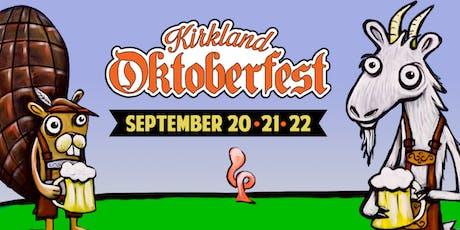 Kirkland Oktoberfest tickets