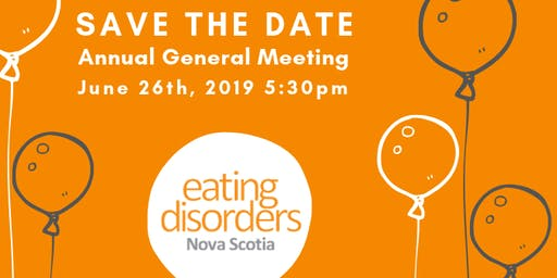 Eating Disorders NS Annual General Meeting