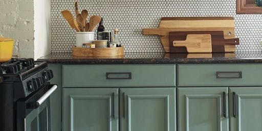 Kitchen Cabinet Refresh with Chalk Paint® by Annie Sloan