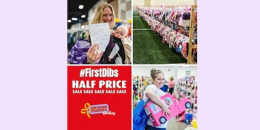 Half-Price #FirstDibs Presale - Sept 20, 2019