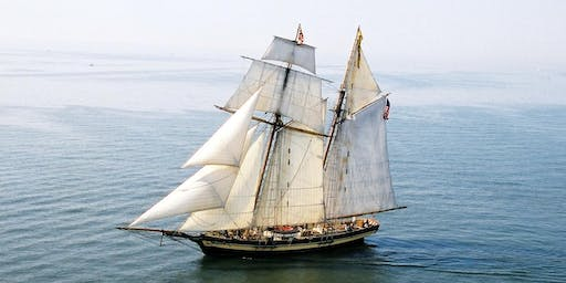 PRIDE OF BALTIMORE II Downrigging Weekend Sails*, Nov 2-3, 2019