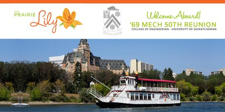 '69 Mech 50th Reunion: Prairie Lily River Boat Tour tickets