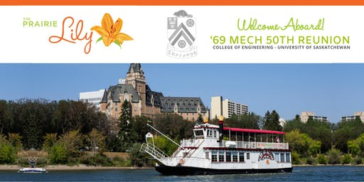 '69 Mech 50th Reunion: Prairie Lily River Boat Tour
