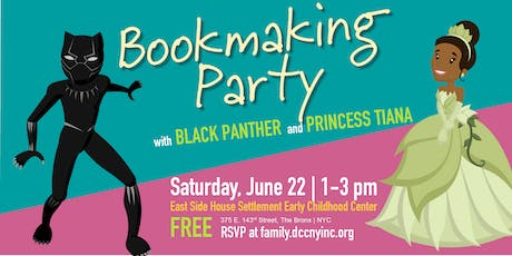Bookmaking Party with Storybook Characters tickets