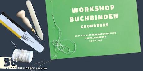 Workshop Buchbinden Grundkurs Tickets