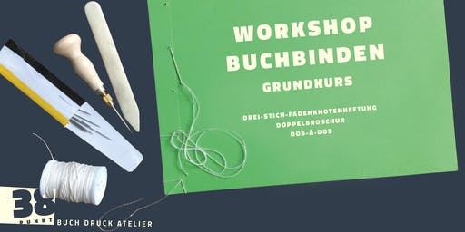 Workshop Buchbinden Grundkurs