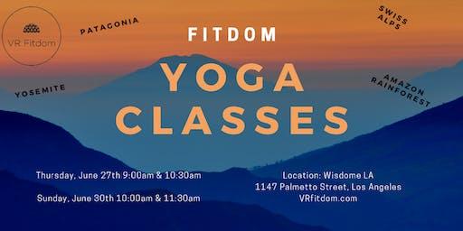 Fitdom Yoga with Mariana Suarez