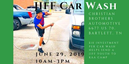 JIFF's Third Annual Car Wash Event