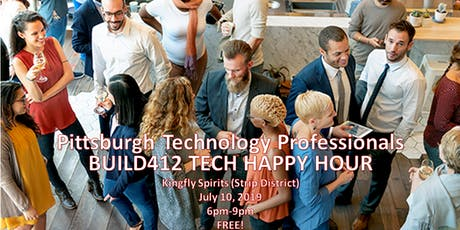 Pittsburgh's Tech Happy Hour - July tickets