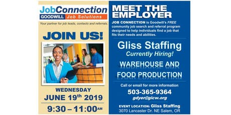 Hiring Event - Salem - 6/19/19 tickets