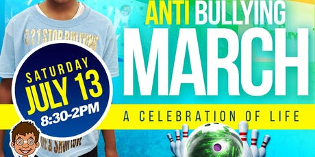 3-2-1 Stopbullying 3rd annual anti bullying march tickets