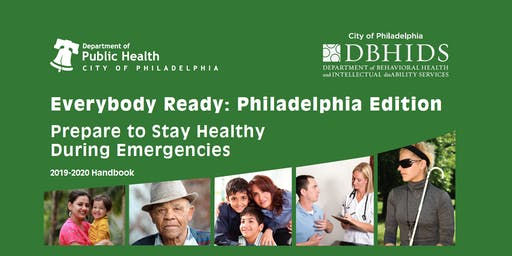 Lunch and Learn: Prepare to Stay Healthy During Emergencies